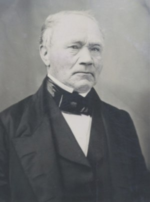 Roderick Matheson - Portrait of the Honorable Roderick Matheson, prominent merchant and statesman.