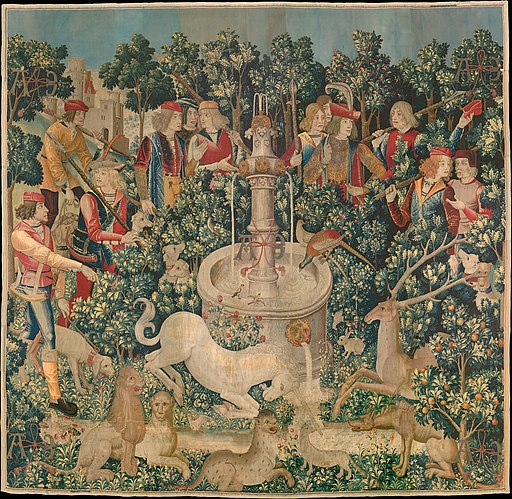 The Hunt of the Unicorn Tapestry 1