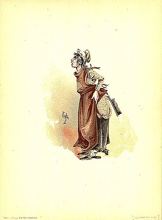 Joseph Clayton Clarke - Image: The Marchioness 1889 Dickens The Old Curiosity Shop character by Kyd (Joseph Clayton Clarke)