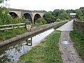 The Marple Aqueduct and Railway Viaduct over the River Goyt - geograph.org.uk - 995506.jpg