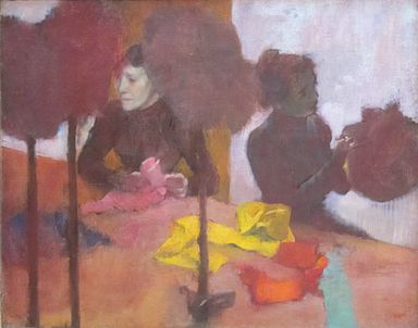 The Milliners by Edgar Degas, c. 1882, Getty Center