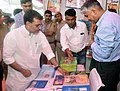 The Minister of State for Human Resource Development, Shri Upendra Kushwaha visiting an exhibition, at the 56th NCERT foundation day celebrations, in New Delhi on September 01, 2016.jpg