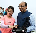 The Minister of State for Youth Affairs and Sports (IC), Water Resources, River Development and Ganga Rejuvenation, Shri Vijay Goel launching the 'Digital Campaign of Wishes' for Indian Olympic contingent, in New Delhi.jpg