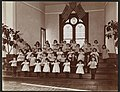 The NY Foundling Hospital - Hall - Exercises - circa 1899 - Byron Company - MNY38619.jpg
