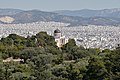 The National Observatory of Athens from Philopappos Hill on May 23, 2020.jpg