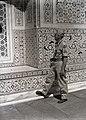 The Photographer Inspects Taj Mahal Stone Work (BOND 0370).jpg