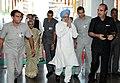 The Prime Minister, Dr. Manmohan Singh at the Sports Injury Centre, at Safdarjung Hospital in New Delhi in September 26, 2010.jpg