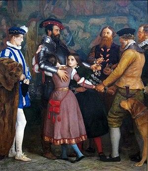 """Ransom - """"The Ramsom"""", John Everett Millais, c1860"""