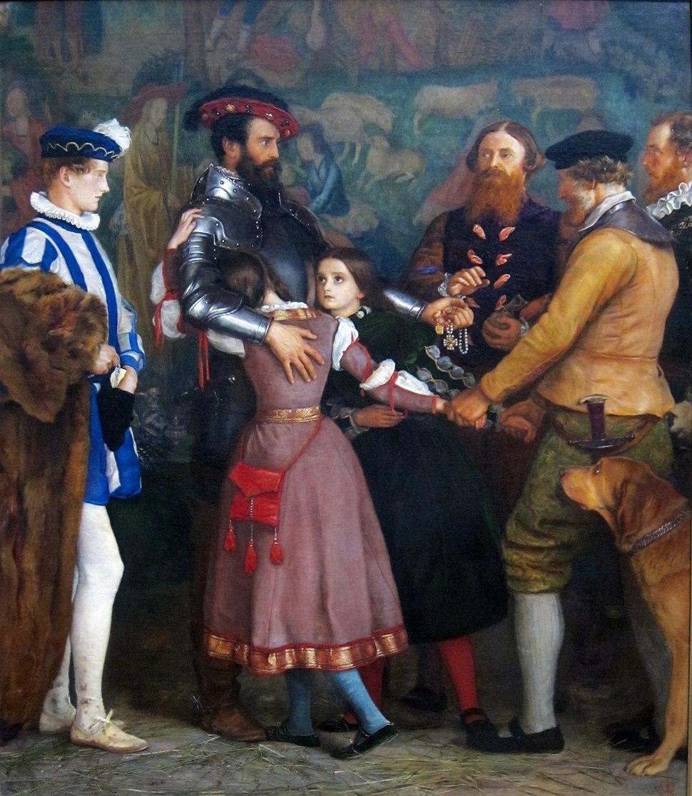 The Ransom by John Everett Millais, 1860-62