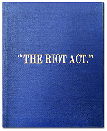 History books that include the ???? riots?