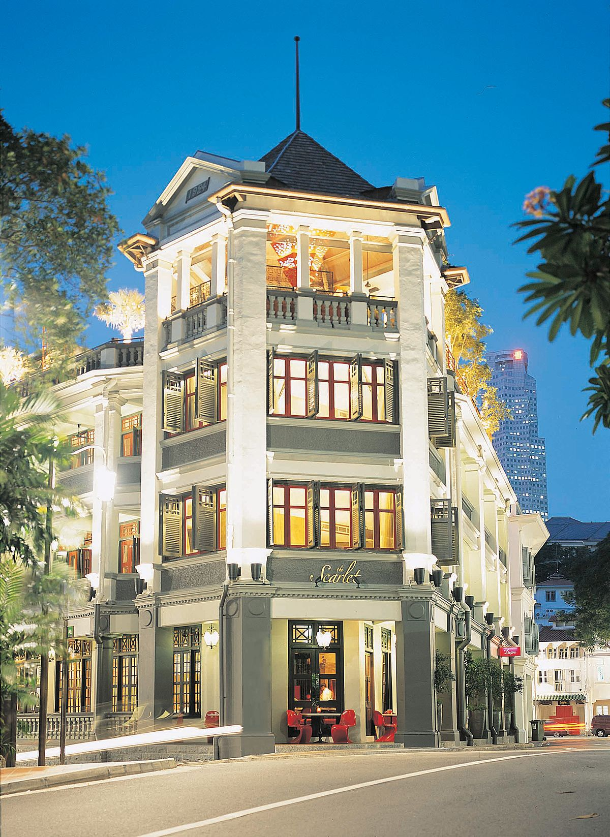 The scarlet singapore wikipedia for Small luxury hotel group