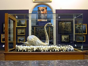 Silver Swan (automaton) - Another view of the Silver Swan