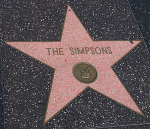 Bart Simpson - In 2000, Bart, along with the rest of the Simpson family, were awarded a star on the Hollywood Walk of Fame.