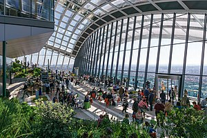 Roof garden -  Sky garden at 20 Fenchurch Street