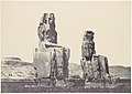 The Statues of Memnon. Plain of Thebes MET DP116341.jpg
