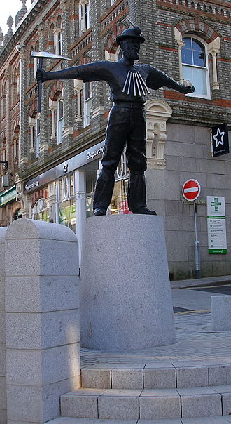 Redruth - Tin Miner statue