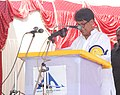 The Union Minister for Civil Aviation, Shri Ajit Singh addressing at the inauguration of the newly built terminal of Pondicherry airport, in Puducherry on February 09, 2013.jpg