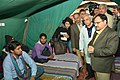 The Union Minister for Health & Family Welfare, Shri J.P. Nadda interacting with the patients and caregivers at Vishram Sadan night shelters, at AIIMS, in New Delhi on December 17, 2015.jpg