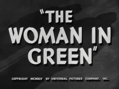 Fil:The Woman in Green (1945).webm