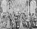 The double marriage between France and Spain in 1615 by Nicolas de Mathoniere.jpg