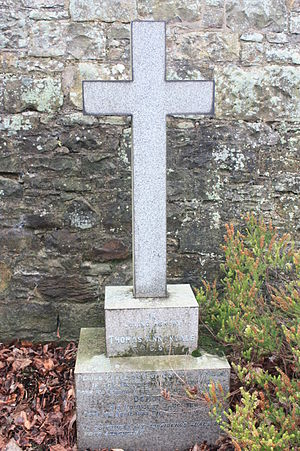 Thomas Annandale - The grave of Thomas Annandale, Dean Cemetery