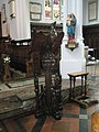 The lectern at St Mary, Aldermary - geograph.org.uk - 1256881.jpg