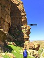 The location of the rock-relief of Darband-i Belula, Horen Shekhan, Sulaymaniyah, Iraq, c. 2000 BCE.jpg