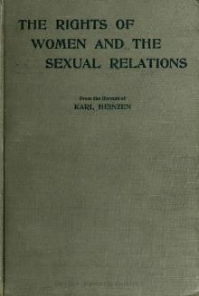 The rights of women and the sexual relations.djvu