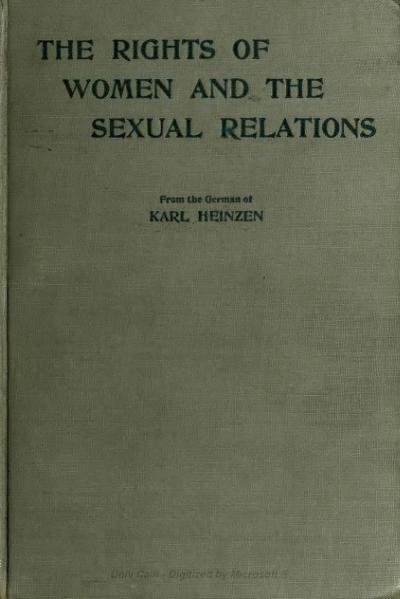 File:The rights of women and the sexual relations.djvu