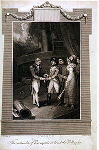 The surrender of Buonaparte on board the Bellerophon.jpg