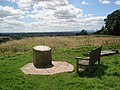 The toposcope at Hanbury churchyard - geograph.org.uk - 500276.jpg