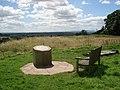 The toposcope at Hanbury churchyard - geograph.org.uk - 500276.jpg