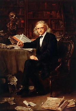 Theodor Mommsen by Ludwig Knaus (1881)