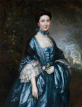 Theodosia Meade, Countess of Clanwilliam - Theodosia Clanwilliam by Thomas Gainsborough, 50 x 40 inches