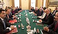 Theresa May holds a meeting for Joint Ministerial Committee.jpg