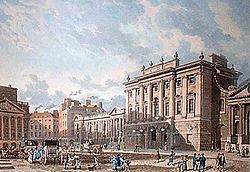 1816年のイングランド銀行と王立証券取引所