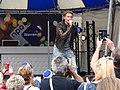 Thomas Berge met zijn optreden in het mediapark in Hilversum.jpg