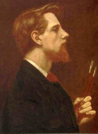 Thomas Cooper Gotch - Thomas Cooper Gotch, self-portrait