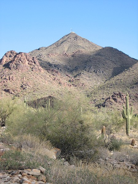 File:Thompson Peak McDowell Mountains.jpg