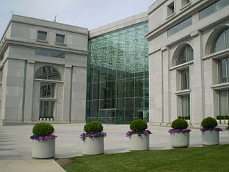 Federal Judicial Center - Image: Thurgood Marshall Federal Judiciary Building front