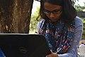 Tilottama Titlee at Wikipedia 15 good article edit-a-thon and adda, Chittagong 1 (04).jpg