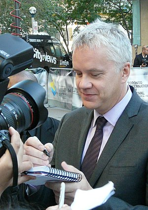 "Actor Tim Robbins arrives at ""The Lucky O..."