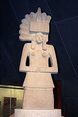 Escultura de Tlazolteotl