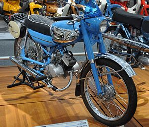 Tohatsu - A Tohatsu Runpet Sports CA2 motorcycle from 1962