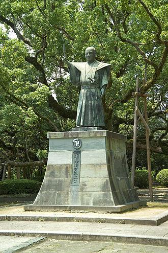 Tokushima, Tokushima - Image: Tokushima Hachisuka Iemasa M3753