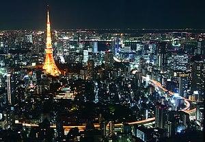 Tokyo Tower at night 8