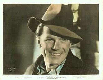 Tom Keene (actor) - Publicity photograph of Tom Keene for Our Daily Bread (1934)