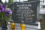 Tomb of Szczupak family at Central Cemetery in Sanok 2.jpg