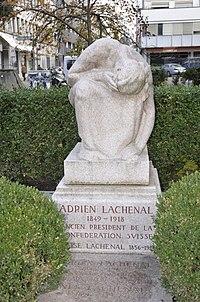 Tombe d'Adrien Lachenal, cimetière des Rois, Genève.jpg