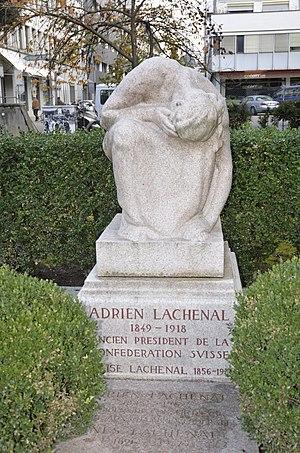 Adrien Lachenal - Tomb of Adrien Lachenal, Kings Cemetery, Geneva.